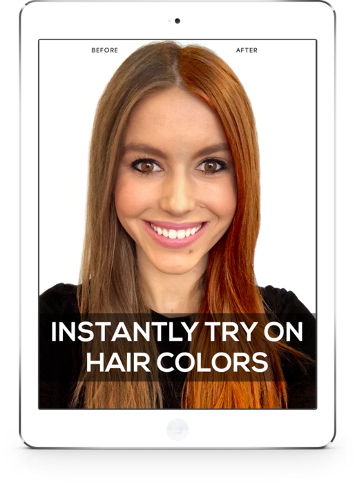 Download Hair Dye Try On Change Your Hair Color Matrix Lounge Acne Skin Hair Color Png Image With No Background Pngkey Com