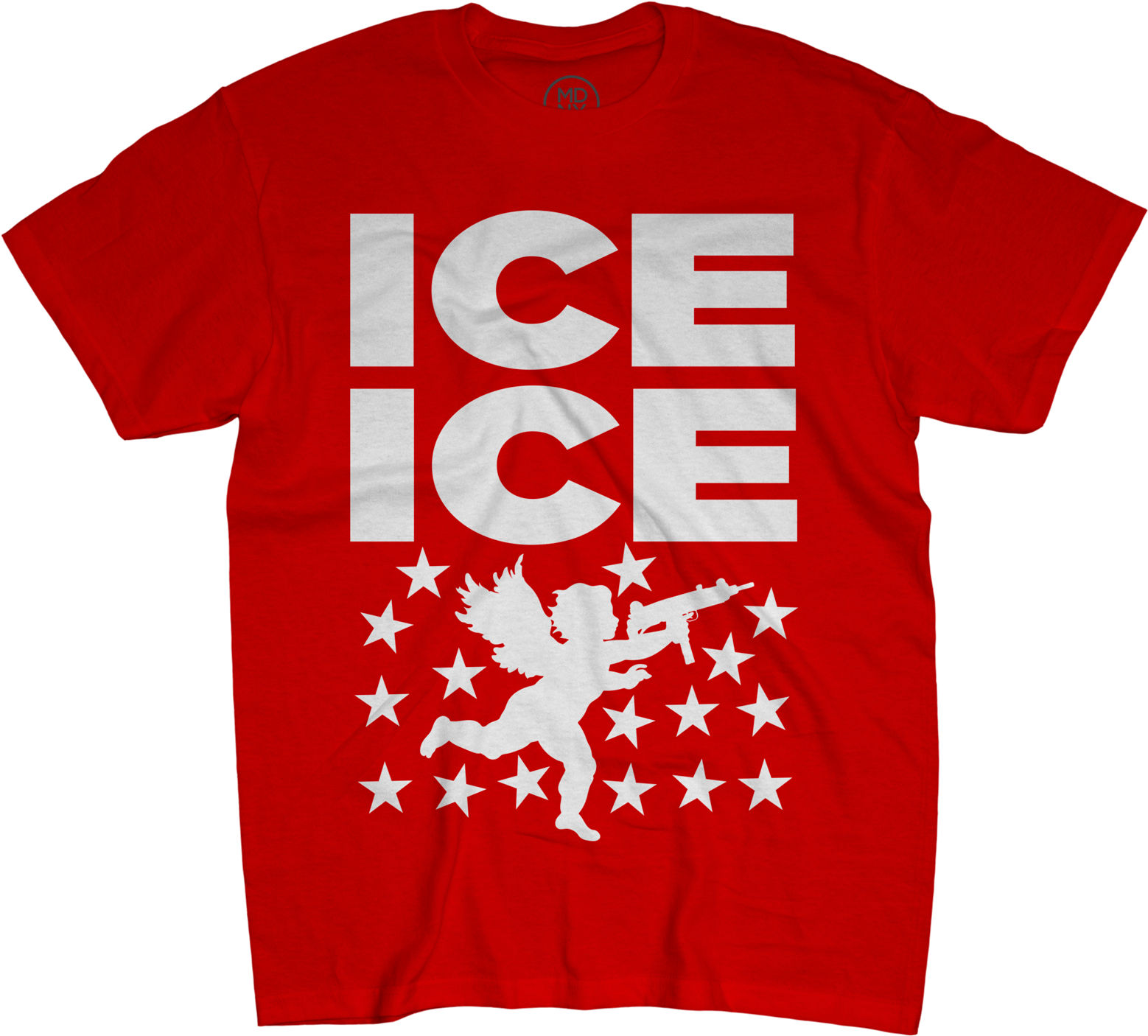 Ice Ice Cupid Red T-shirt - Best Red Hot Chili Peppers T Shirt (1600x1600), Png Download