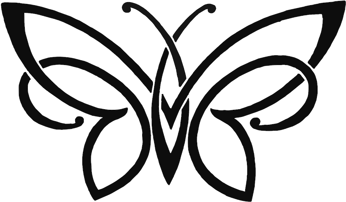 Download Butterfly Pencil Sketch Drawing Free Png Hq Clipart Simple Butterfly Pencil Drawing Png Image With No Background Pngkey Com