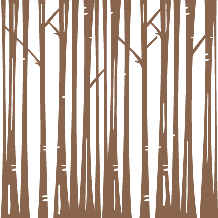 Bare Winter Trees Svg Scrapbook Cuts Winter Svg Cut - Bare Forest Tree Png (432x432), Png Download