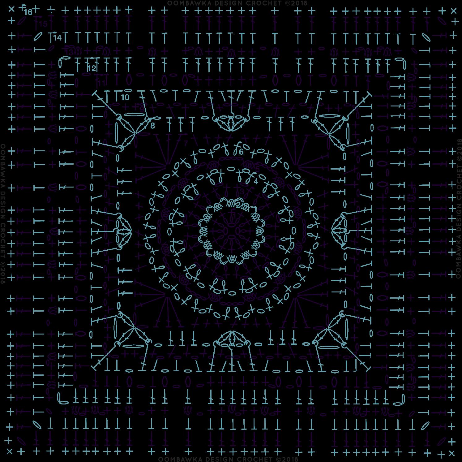 Download Diagram Magic Menhirs Afghan Square Pattern