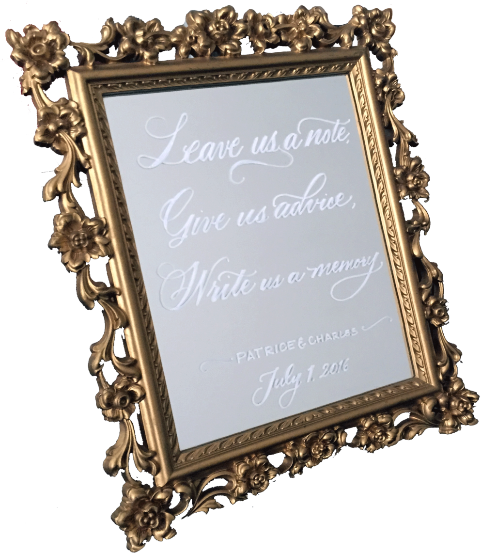 Download 5 X 11 Ornate Gold Mirror Picture Frame Png Image With No Background Pngkey Com