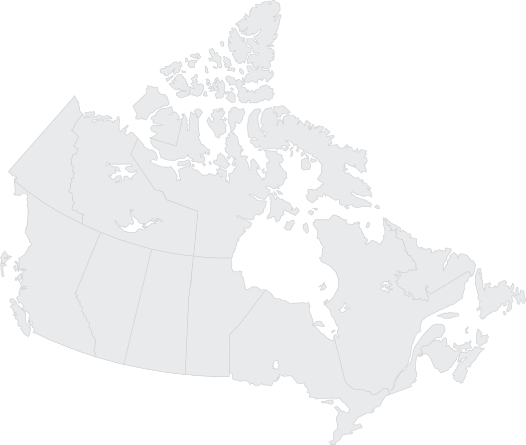 Download Map Of Canada Canada Black Map Png Image With No