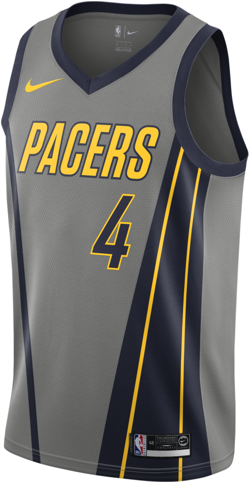 newest b5a7f f5db3 Download Indiana Pacers - Nba Jersey 2018 19 PNG Image with ...