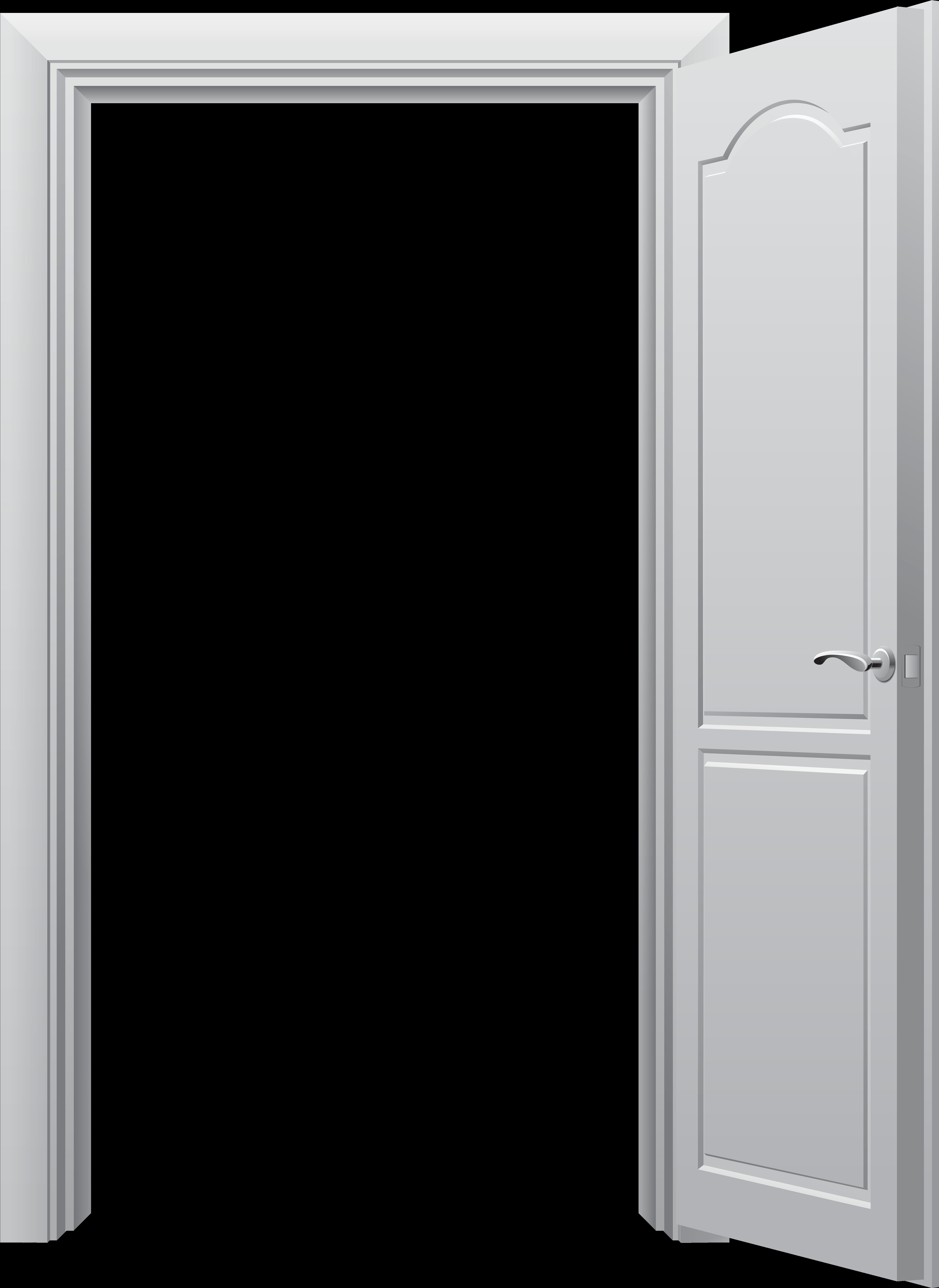 Open Door Png Clip Art Best Web Clipart - Open Door Png (5835x8000), Png Download