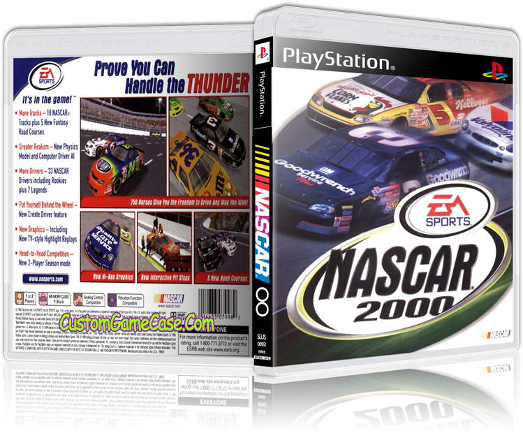 Download Sony Playstation 1 Psx Ps1 - Nascar 2000 Pc Box PNG