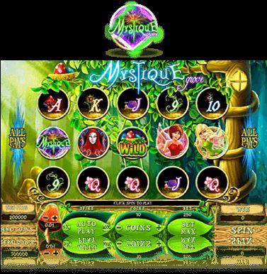 игровые автоматы mystique grove