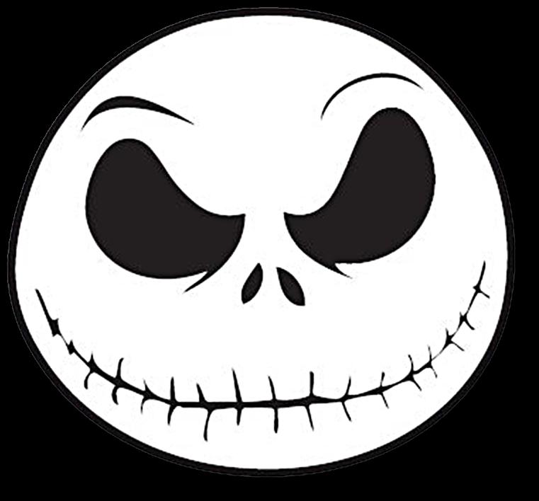 Download Jack Skellington Face Png - Nightmare Before ...