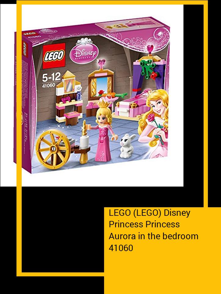 Lego Disney Princess Princess Aurora In The Bedroom - Lego Disney La Belle Au Bois Dormant (735x1100), Png Download