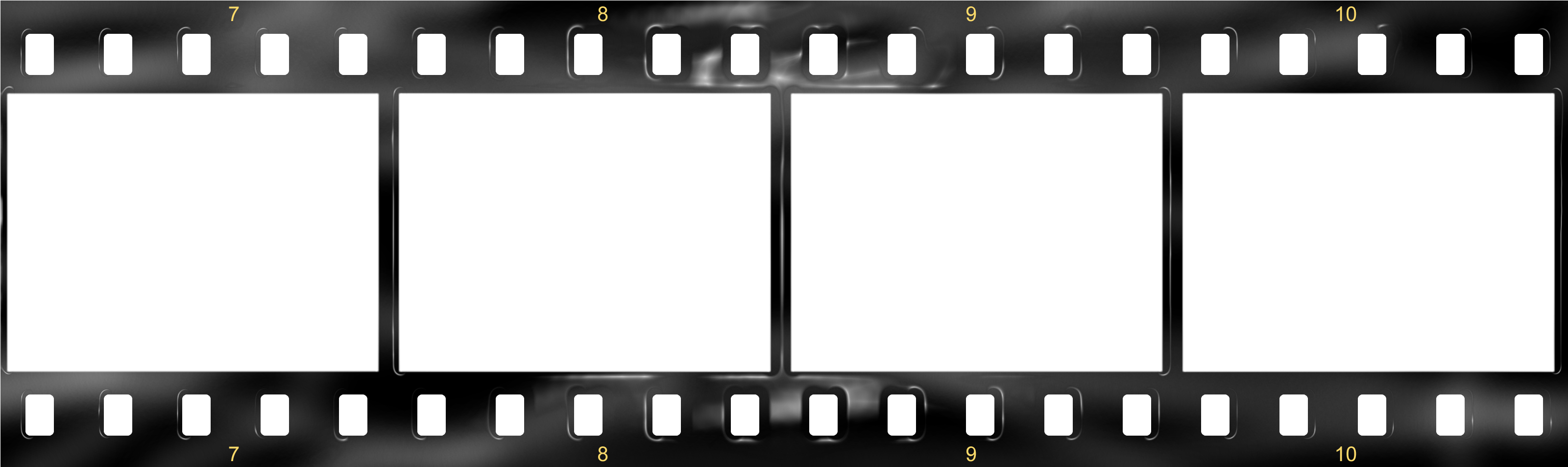 Download Filmstrip - Film Strip Template PNG Image with No ...