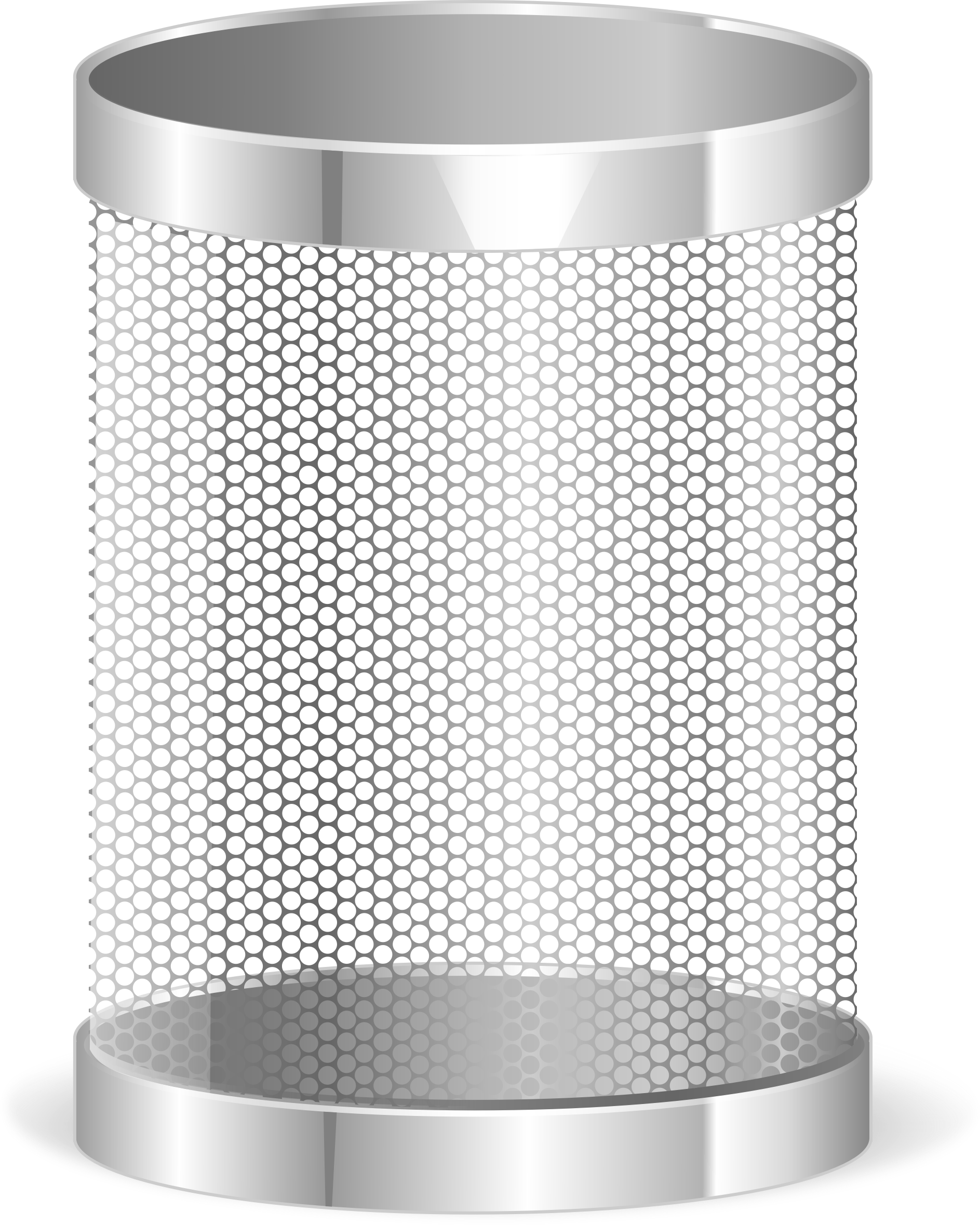 Open Garbage Can Png - Transparent Trash Bin Png (1887x2359), Png Download