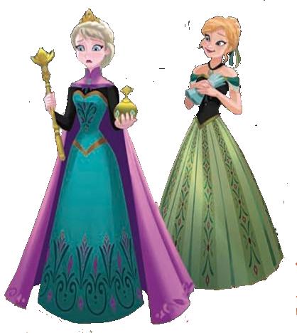 Frozen Images And Elsa Wallpaper Background Photos - Queen Elsa Elsa And Anna Frozen (418x468), Png Download