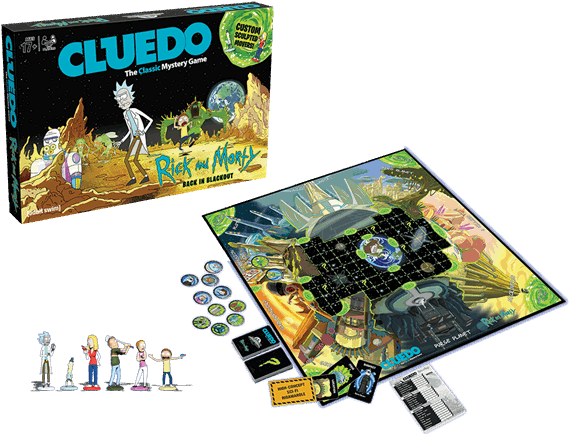 1 Of - Rick And Morty Board Games (600x600), Png Download