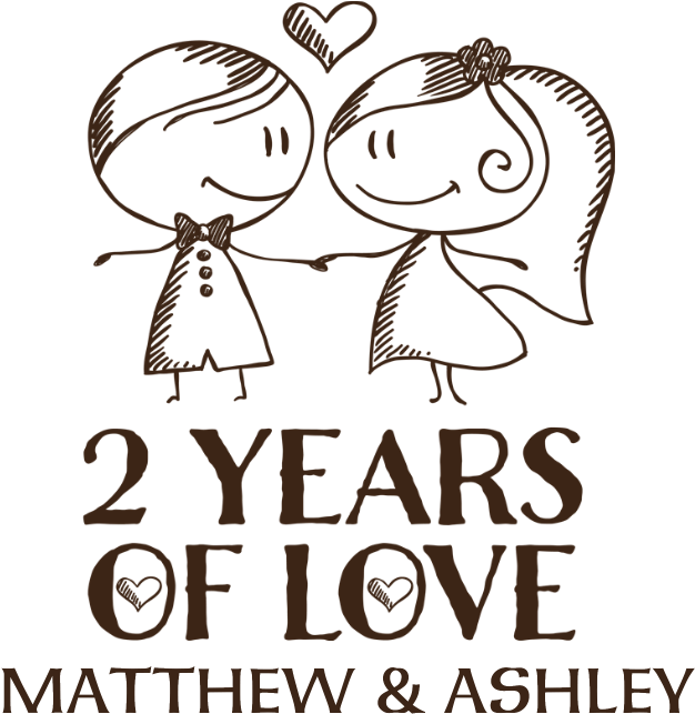 Download 2nd Wedding Anniversary Personalized Pillow Case 3rd Wedding Anniversary Png Png Image With No Background Pngkey Com