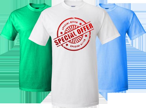 R P Prints Bulk Custom T Shirts Are