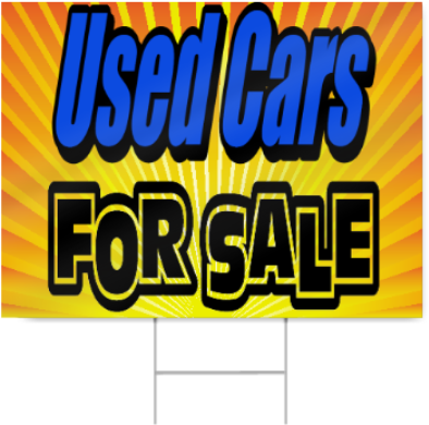 Download Used Cars For Sale Sign Used Car Sale Sign Png Image With