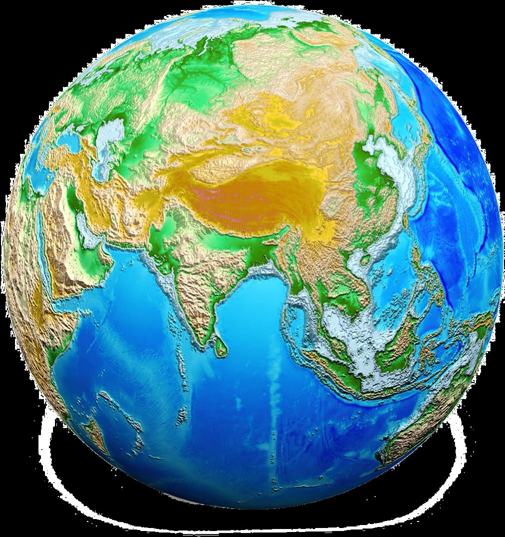 Земля с белым фоном картинка