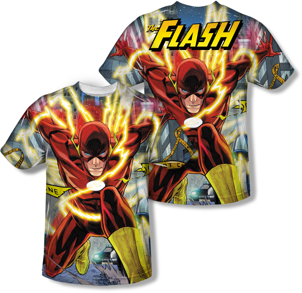 See 1 More Picture - Flash Character Barry Allen (1000x1000), Png Download