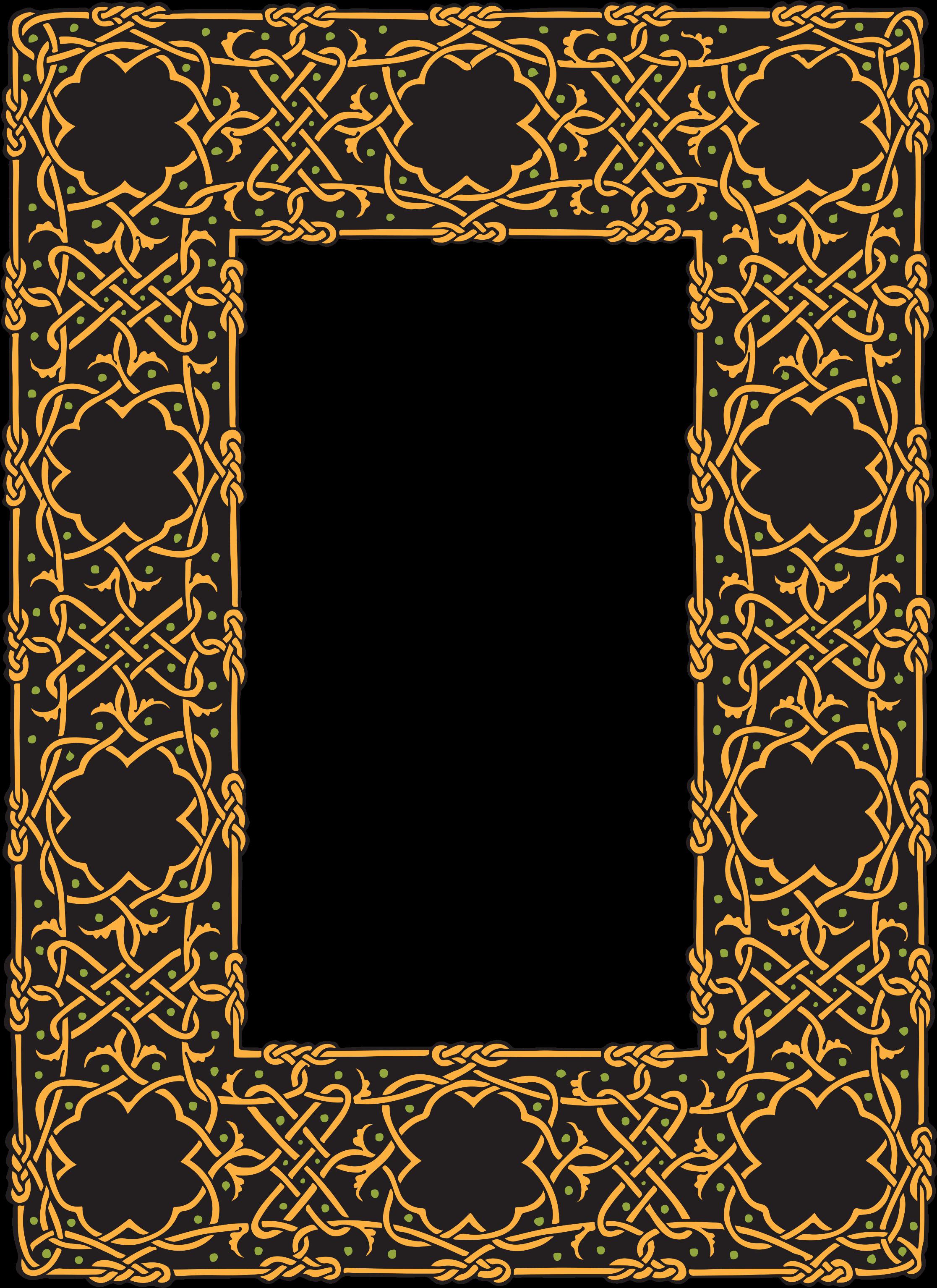 арабские рамки для фото качестве