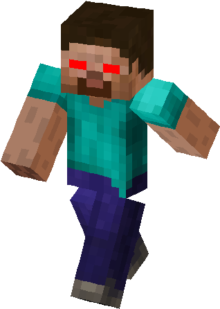 Download Red Eye Herobrine Skin Minecraft Funny Steve Skin