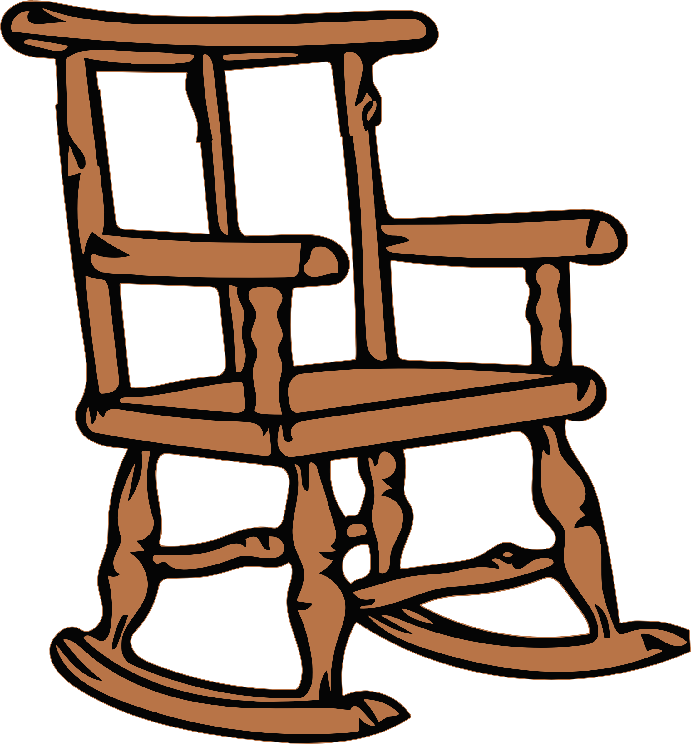 Picture of: Download Clip Art Black And White Big Image Png Rocking Chair Clipart Png Image With No Background Pngkey Com