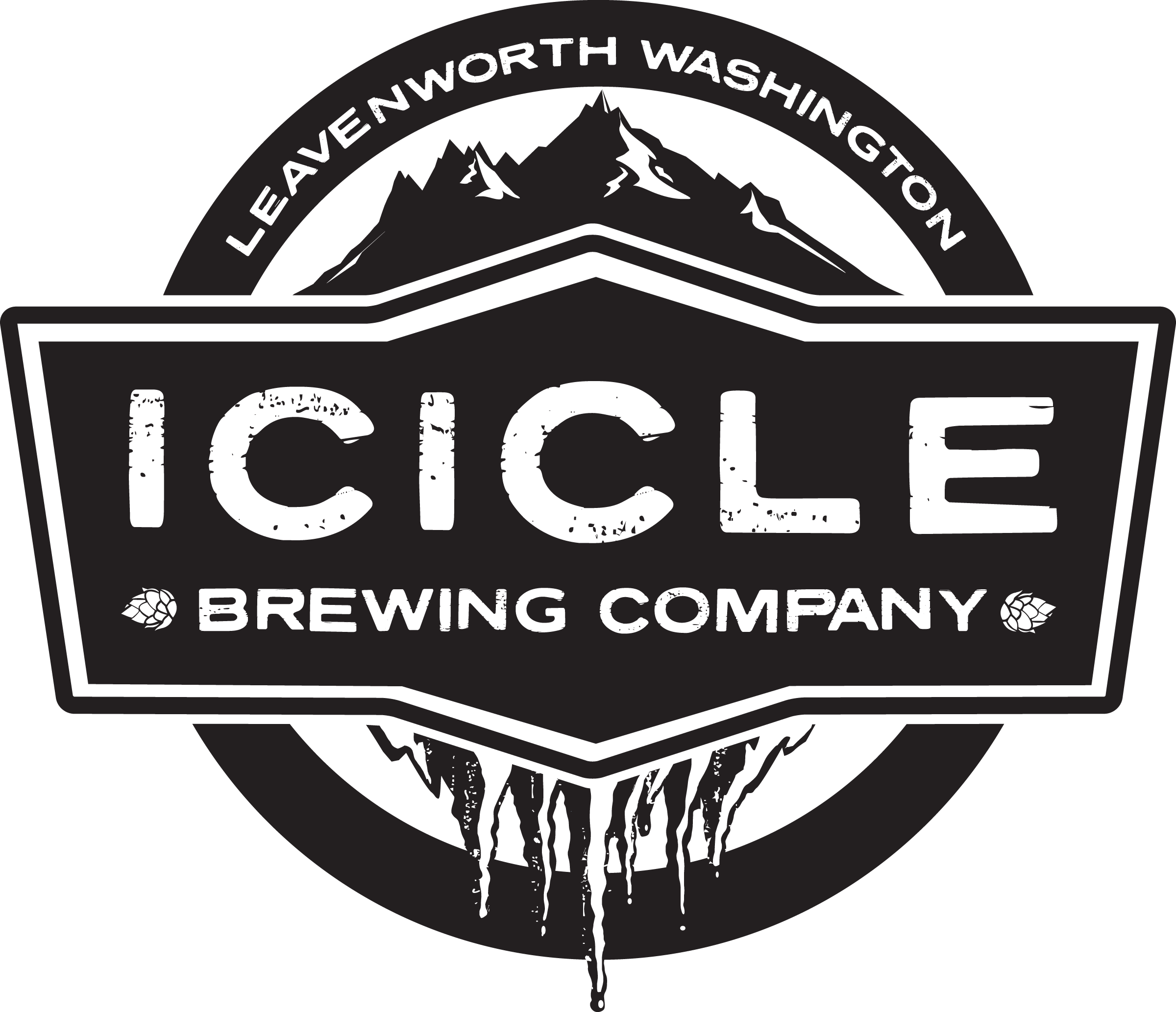 Png - Icicle Brewing Company Logo (2400x2066), Png Download