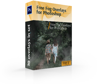 Download Free Fog Overlays For Photoshop Cover Box - Adobe Photoshop