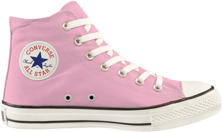 Habitual Normal Aparentemente  Download Chuck Taylor All Star Baby Pink - Converse All Star PNG Image with  No Background - PNGkey.com