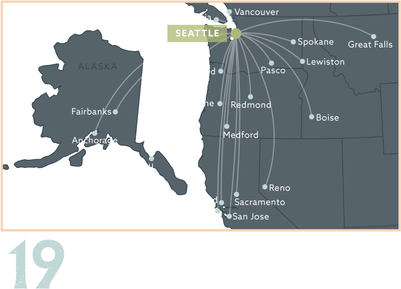 Download Alaska Airlines Route Map - Map PNG Image with No ...
