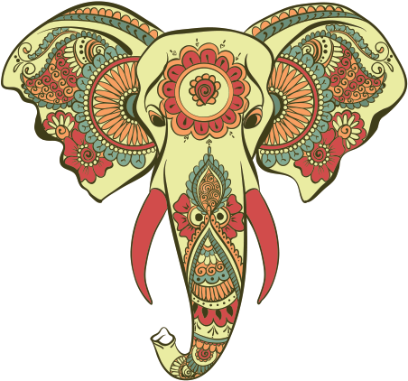 Download Hinduism Free Png Image Drawing Of Decorated Elephant Face Png Image With No Background Pngkey Com By downloading decorated ceramic elephant transparent png you agree with our terms of use. decorated elephant face png image