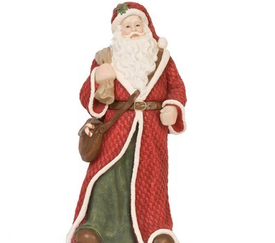 Statue Pere Noel Download Pere Noel Figurine Statue   Santa Claus PNG Image with No
