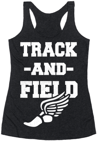Track And Field Racerback Tank Top - Let Me Be Perfectly Queer (484x484), Png Download