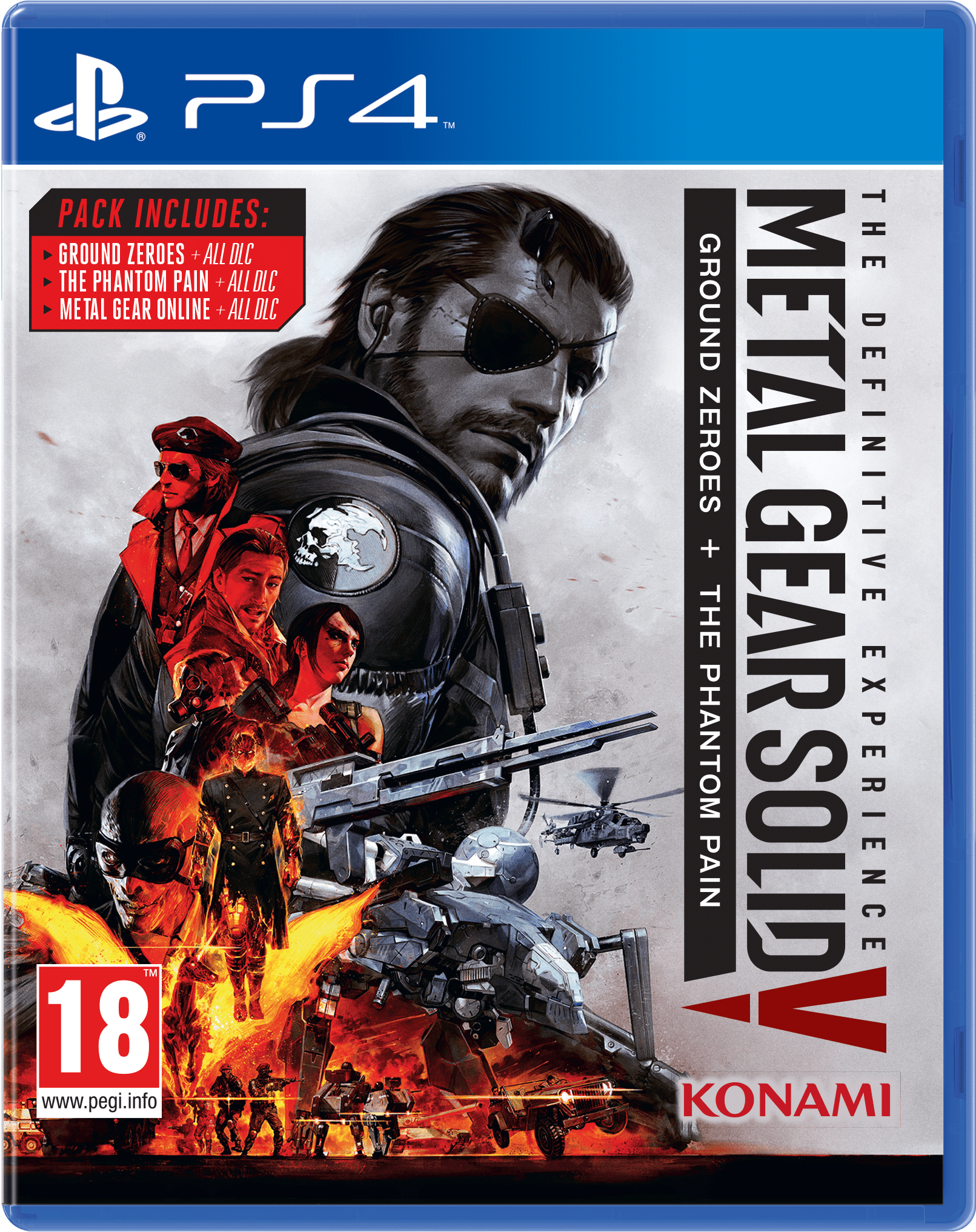 Metal Gear Solid V - Metal Gear Solid V Definitive Experience Ps4 (1875x2227), Png Download