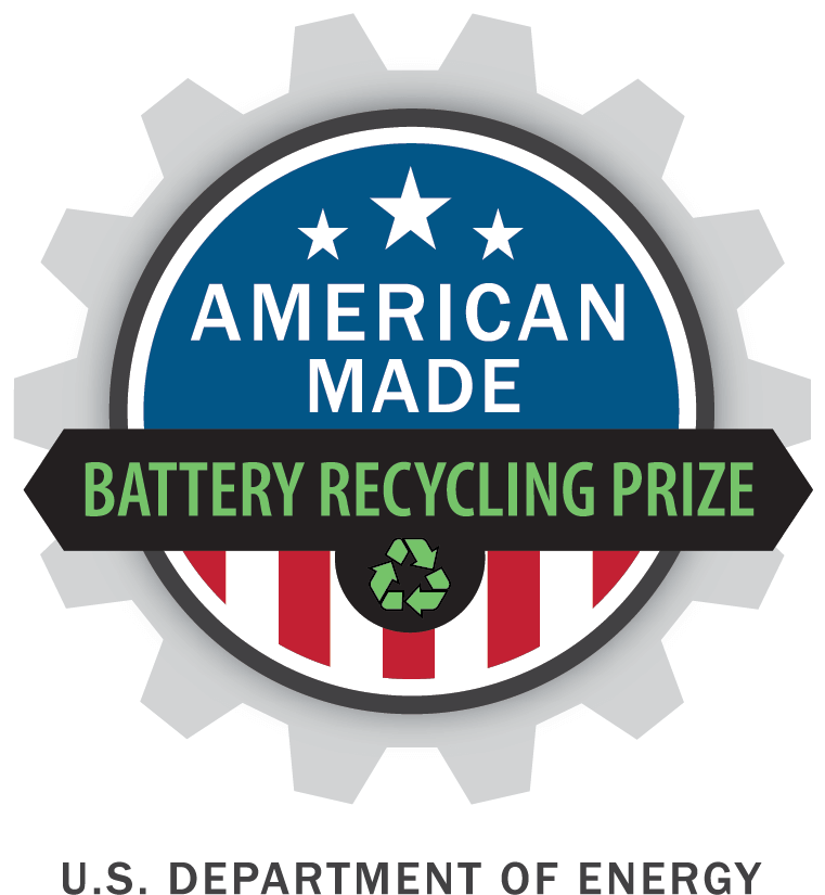 Download American Made Lithium Ion Battery Prize Logo Label Png