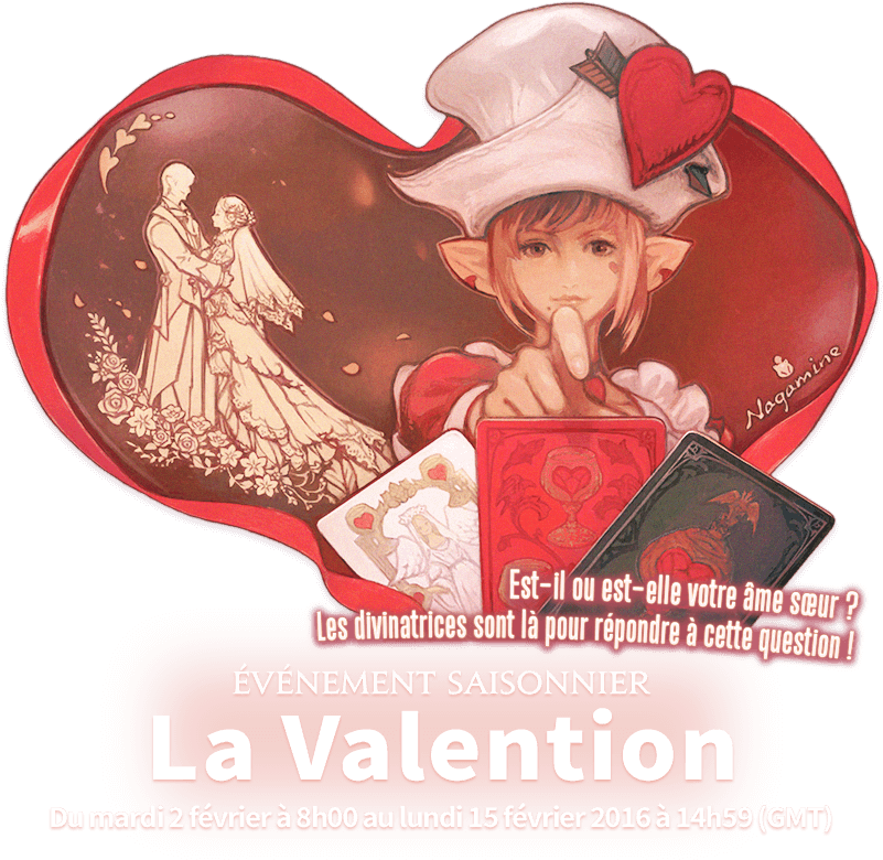 Final Fantasy Xiv Valentione's Day (960x820), Png Download