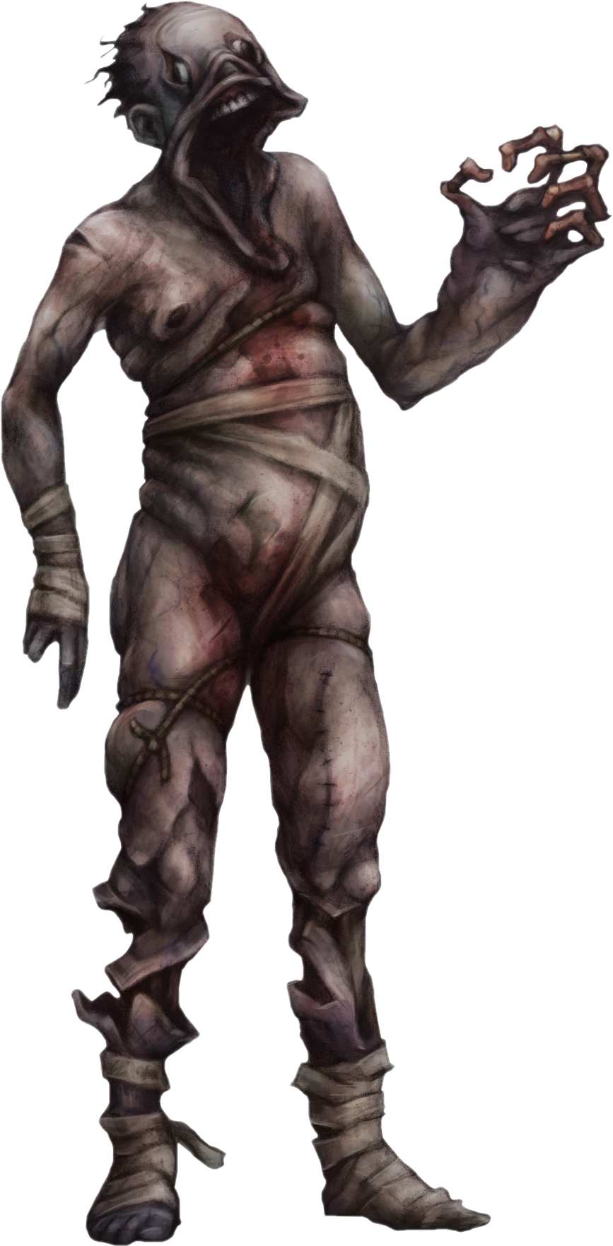 Download The Gatherers Amnesia Monster Concept Art Png Image With No Background Pngkey Com