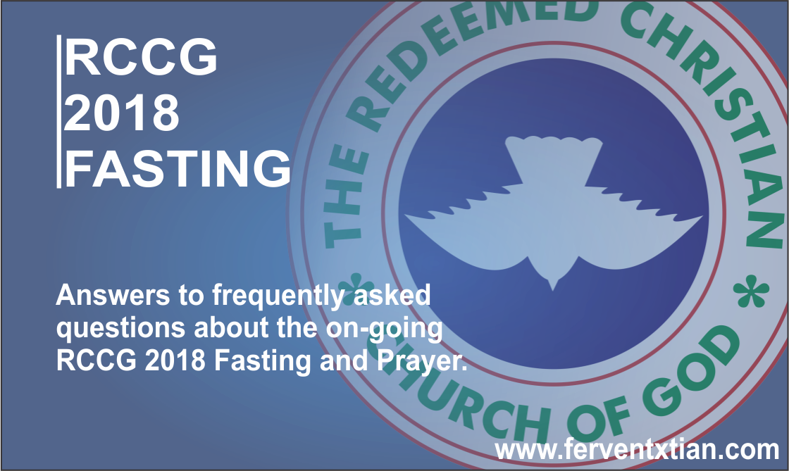 Rccg 2018 Fasting - Redeemed Christian Church Of God (1120x669), Png Download