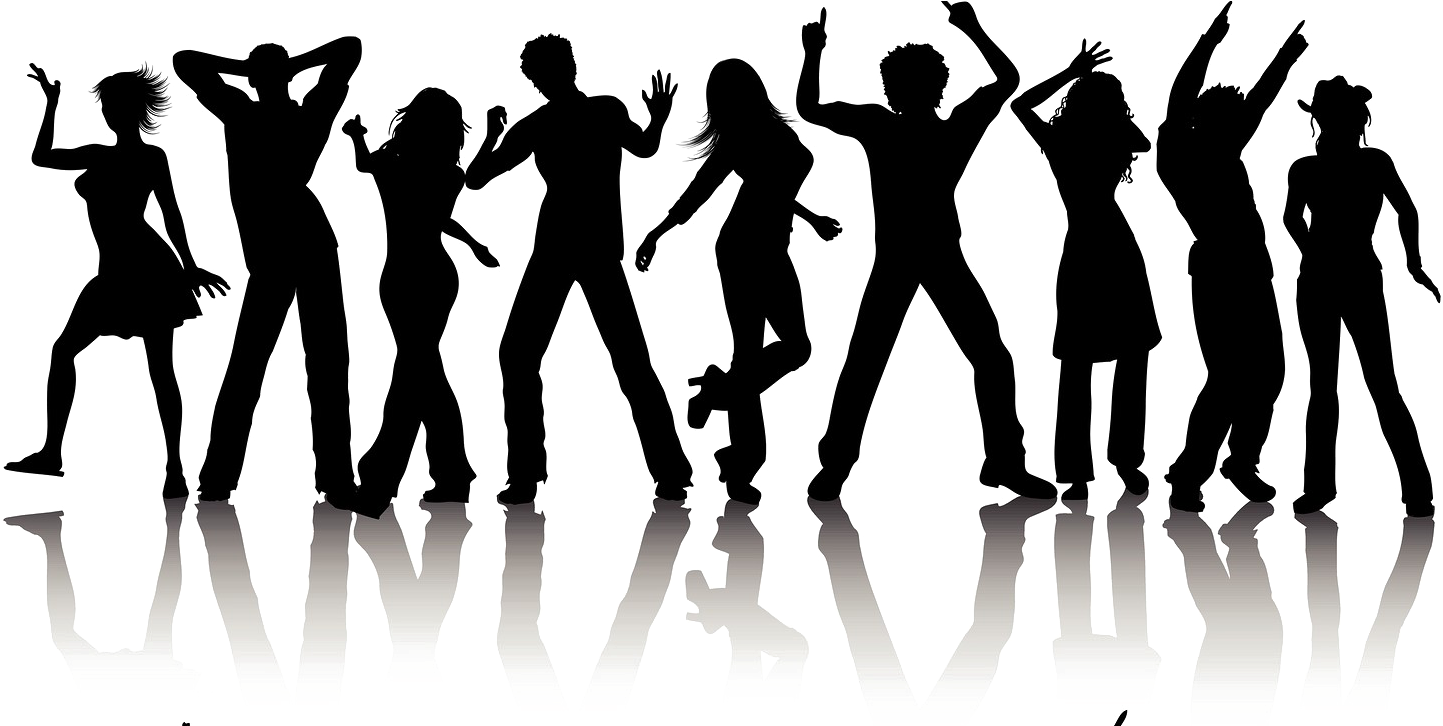 Download Black And White Party Png Image Mart Zumba Dancer Clip Art Png Image With No Background Pngkey Com