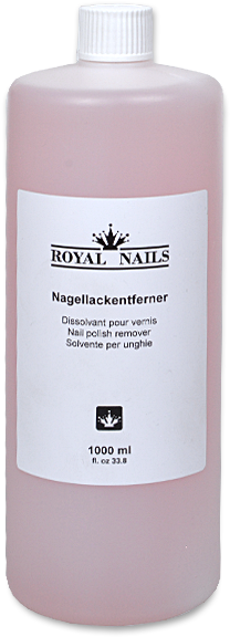Royal Nails Liquids - Nail Polish Remover 1000ml (600x600), Png Download