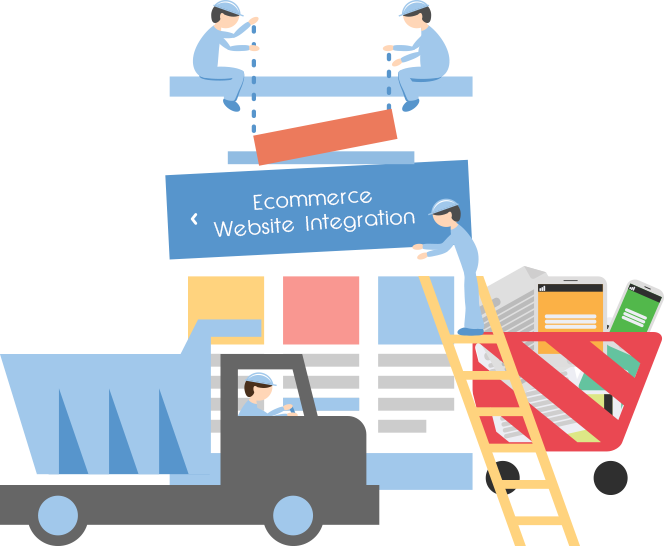 Websites Developed From Open Source Frameworks Can - Ecommerce Website Integration (664x546), Png Download