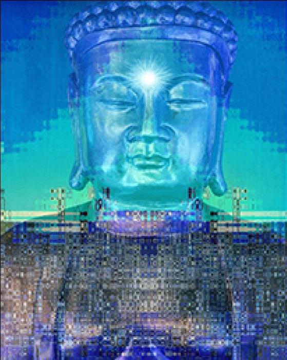 Buddhism & Technology - Gautama Buddha (1740x700), Png Download