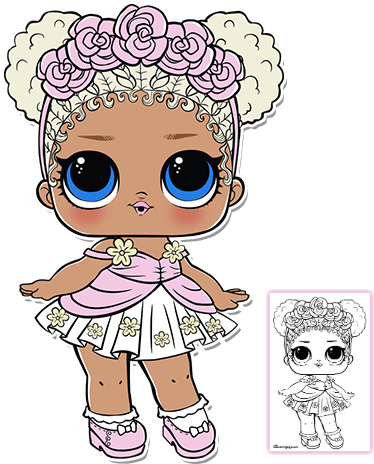 Boy Lol Doll Coloring Pages Coloring And Drawing