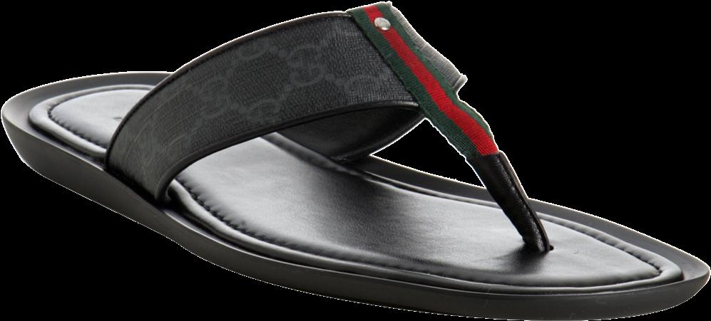 84f82590b81514 Download Gucci Flip Flop Png Vector Black And White - Flip-flops PNG ...