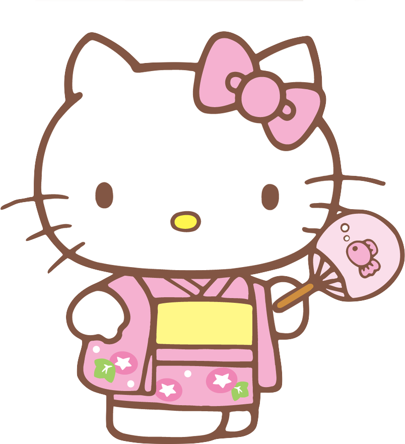Pink Hello Kitty No Background - mypic.asia