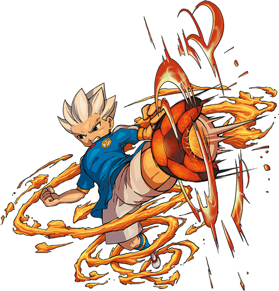Download Bakunetsu Screw Game Artwork Axel Blaze Wallpaper