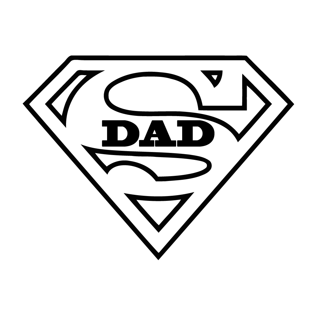 Creative Super Dad Hd Wallpaper - Mobile Wallpapers