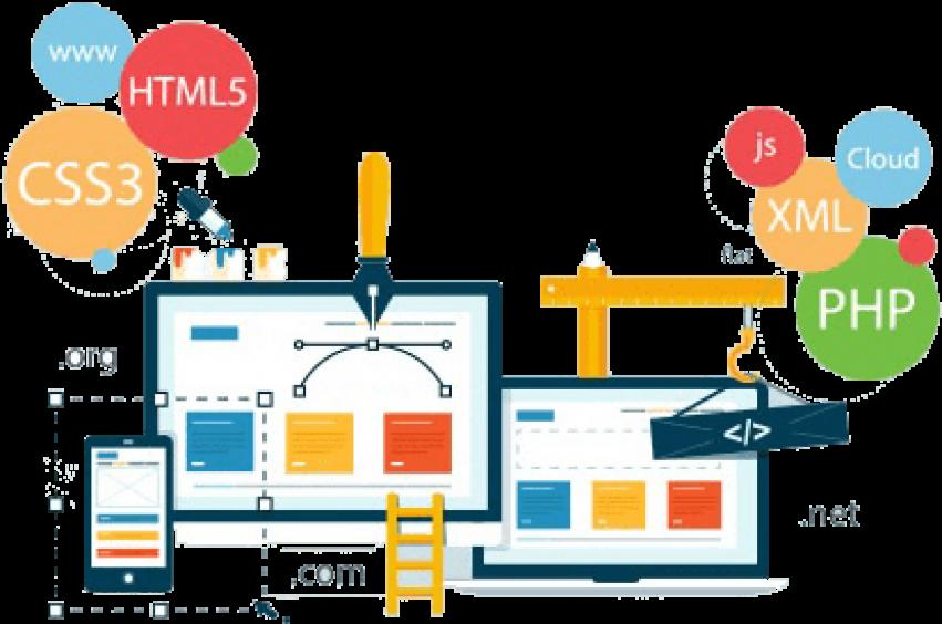 Free Png Download Creative Web Design Banner Png Images - Creative Web Design Banner (851x564), Png Download
