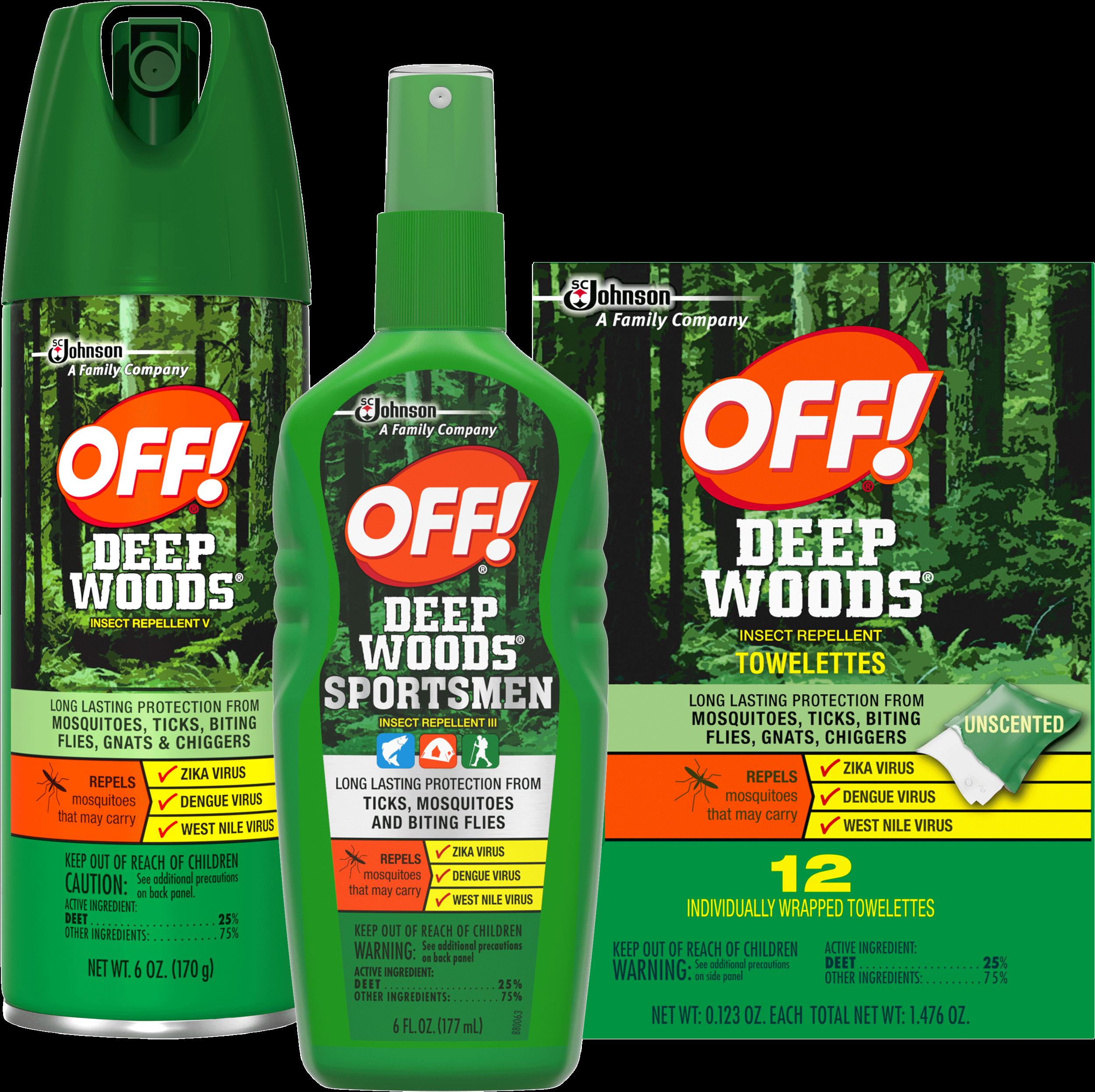 off active vs deep woods