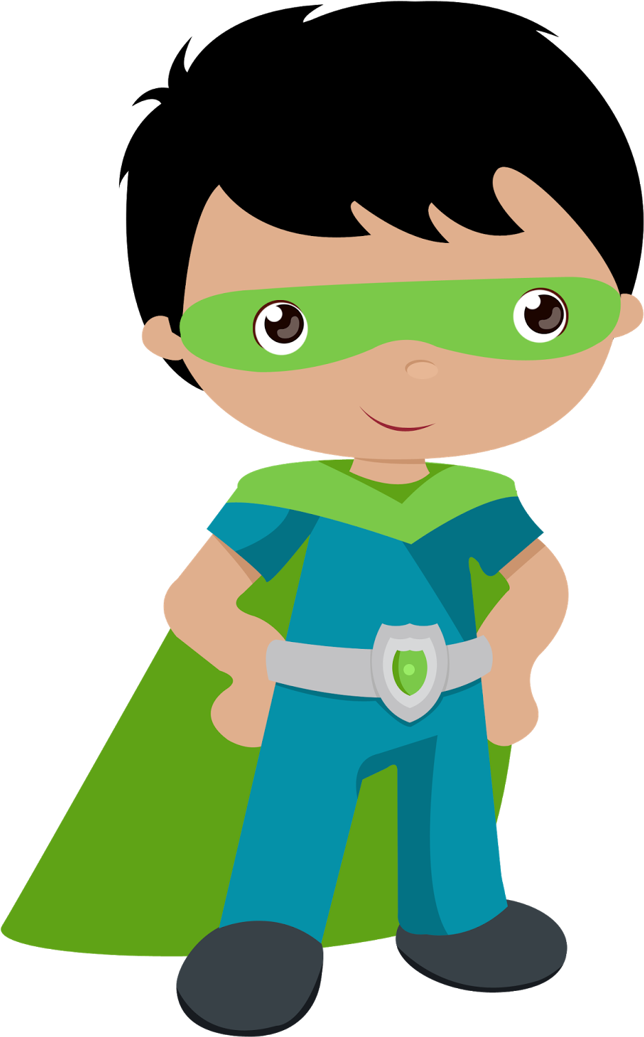 Collection Of Superhero Kids High Quality - Super Hero Kids Clip Art (1284x1600), Png Download