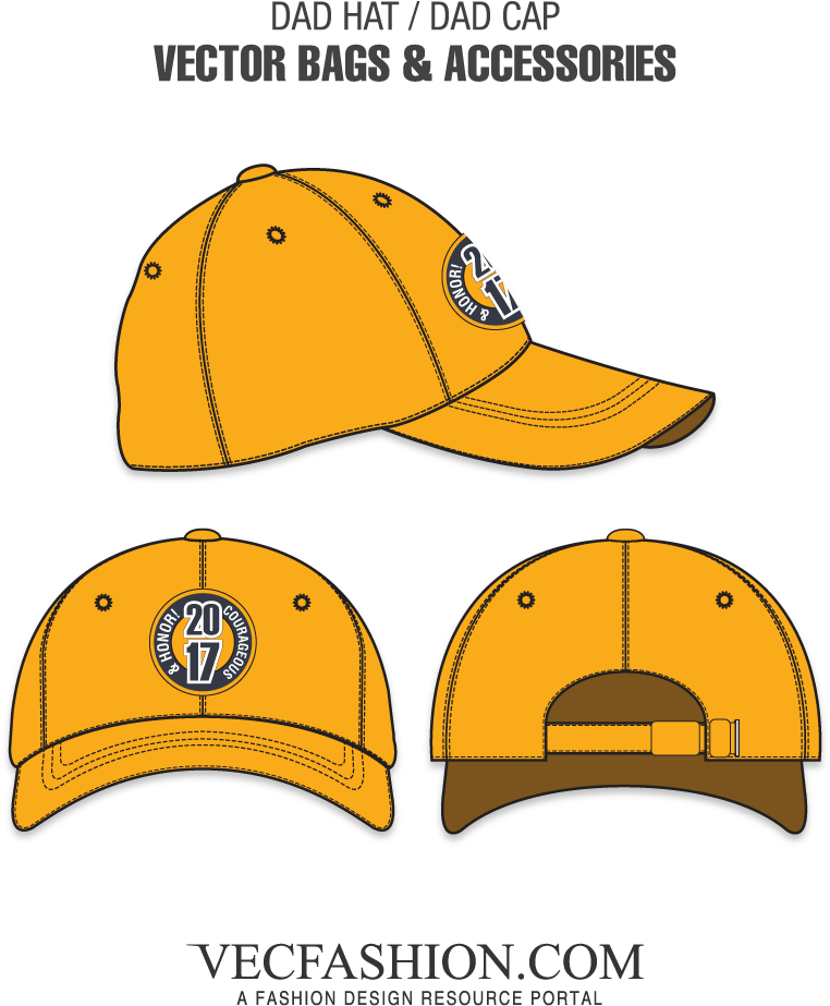 Clipart Free Library Dad Hat Or Template - Cap Template (1000x1000), Png Download